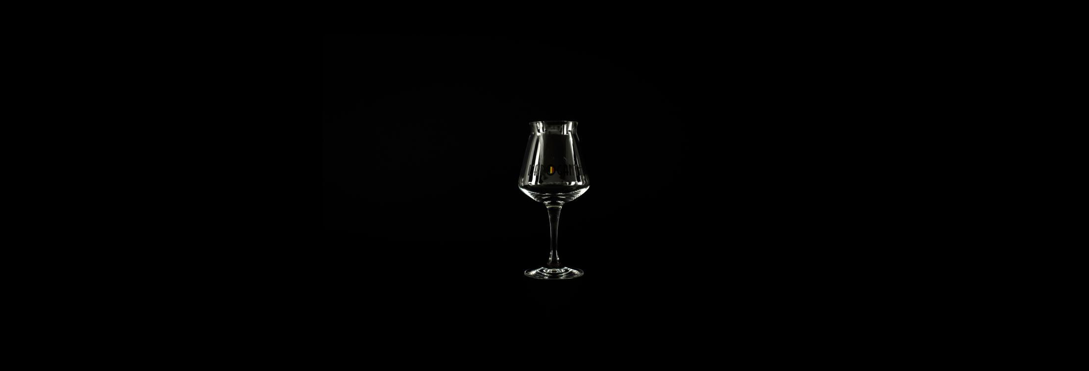 L'Arogante teku glass