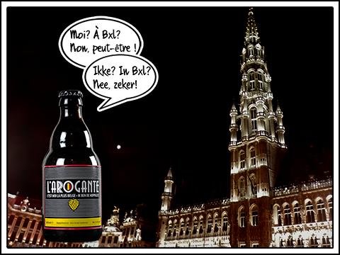 L'Arogante in Brussels